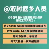 【最新】春节返乡最新要求,国家卫健委权威解答!