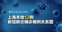 一张图看懂 上海本地12名确诊病例关联图谱